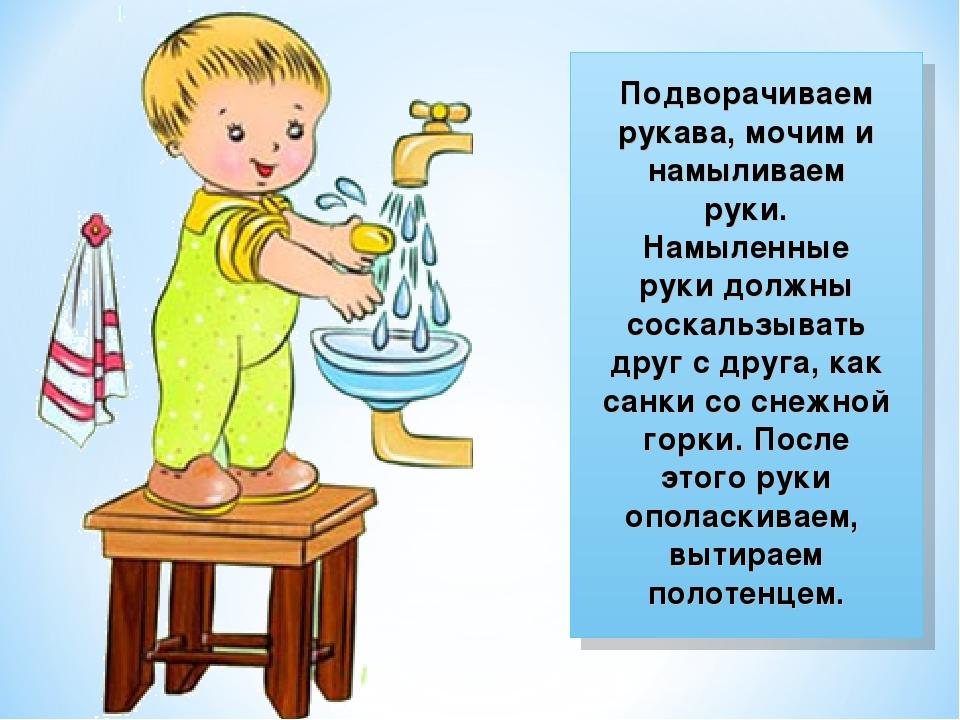 Картинки как умывать руки